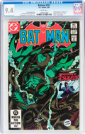 Modern Age (1980-Present):Superhero, Batman #357 (DC, 1983) CGC NM 9.4 White pages....