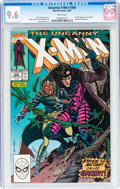 Modern Age (1980-Present):Superhero, X-Men #266 (Marvel, 1990) CGC NM+ 9.6 White pages....