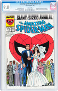 Modern Age (1980-Present):Superhero, The Amazing Spider-Man Annual #21 (Marvel, 1987) CGC NM/MT 9.8White pages....