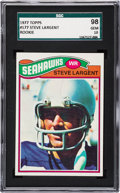 Football Cards:Singles (1970-Now), 1977 Topps Steve Largent #177 SGC 98 Gem 10....