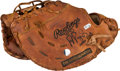 Baseball Collectibles:Others, 2010 Albert Pujols Game Worn Fielder's Glove with Pujols Letter....