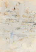 Paintings, TERRELL JAMES (American, b. 1955). Notes for a Sea Change, 1991. Mixed media on paper. 41-1/2 x 29-1/2 inches (105.4 x 7...