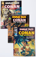 Magazines:Adventure, Savage Tales #1-5 Group (Marvel, 1972-74) Condition: Average FN-.... (Total: 11 Comic Books)