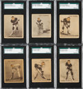 Hockey Cards:Lots, 1933/34 Ice Kings Hockey Collection (84). ...