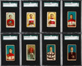 """Hockey Cards:Lots, 1910 - 1911 C55 & C56 """"Hockey Players"""" Card Collection (53)...."""