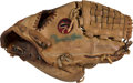 Baseball Collectibles:Others, Circa 1983 Rollie Fingers Game Used Fielder's Glove. ...