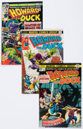 Bronze Age (1970-1979):Humor, Howard the Duck Group (Marvel, 1976-77) Condition: Average FN-....(Total: 20 Comic Books)