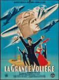 """Movie Posters:Foreign, La Grande Voliere (Les Films Constellation, 1948). French Grande (45"""" X 61""""). Foreign.. ..."""