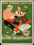 """Movie Posters:Foreign, The Well-Digger's Daughter (Gaumont, R-1951). French Grande (47"""" X 63""""). Foreign.. ..."""
