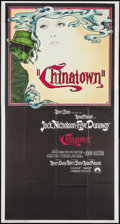"""Movie Posters:Mystery, Chinatown (Paramount, 1974). Three Sheet (41"""" X 77""""). Mystery.. ..."""