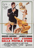"Movie Posters:James Bond, The Man with the Golden Gun (United Artists, 1974). Italian 4 -Foglio (55"" X 78""). James Bond.. ..."