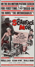 "Movie Posters:Crime, The Scarface Mob (Desilu, 1962). Three Sheet (41"" X 79""). Crime.. ..."