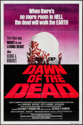 "Movie Posters:Horror, Dawn of the Dead (United Film Distribution, 1978). One Sheet (27"" X 41"") Red Title Style. Horror.. ..."