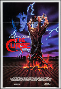 """The Curse & Other Lot (Trans World, 1987). One Sheets (2) (27"""" X 40"""" & 27"""" X 41""""). H..."""