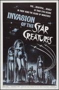 """Movie Posters:Science Fiction, Invasion of the Star Creatures (American International, 1962). OneSheet (27"""" X 41""""). Science Fiction.. ..."""