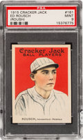 Baseball Cards:Singles (Pre-1930), 1915 Cracker Jack Ed Roush #161 PSA Mint 9 - Pop Three, NoneHigher....