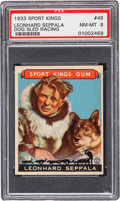 Baseball Cards:Singles (1930-1939), 1933 Goudey Sport Kings Leonard Seppala #48 PSA NM-MT 8. ...
