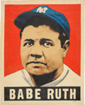 Baseball Collectibles:Others, 2014 Babe Ruth 1948 Leaf Original Artwork by Arthur Miller....