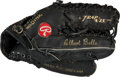 Baseball Collectibles:Others, 1990's Albert Belle Game Used Fielder's Glove. ...