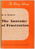 Books:Social Sciences, H.G. Wells. The Anatomy of Frustration; a Modern Synthesis.London: The Cresset Press, 1936. Early reprint editi...