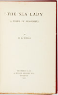 Books:Literature 1900-up, H.G. Wells. The Sea Lady; a Tissue of Moonshine. London:Methuen & Co., 1902. First edition. ...