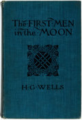 Books:Science Fiction & Fantasy, H.G. Wells. The First Men in the Moon. London: George Newnes, 1901. First English edition. ...