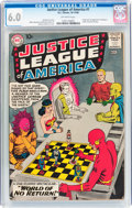 Silver Age (1956-1969):Superhero, Justice League of America #1 (DC, 1960) CGC FN 6.0 Off-white pages....
