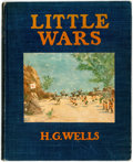 Books:Children's Books, [Children's]. H.G. Wells. Little Wars. A Game for Boys.Boston: Small, Maynard and Company, [1913]. ...