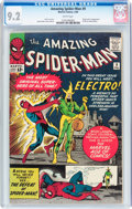 Silver Age (1956-1969):Superhero, The Amazing Spider-Man #9 (Marvel, 1964) CGC NM- 9.2 Whitepages....