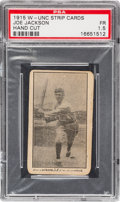 Baseball Cards:Singles (Pre-1930), 1915 W-Unc Joe Jackson PSA Fair 1.5....