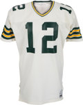 Football Collectibles:Uniforms, 1984 Lynn Dickey Game Worn Green Bay Packers Jersey - Photomatched to Broncos Monday Night Football Game!...