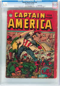 Captain America Comics #nn Canadian Edition (Timely, 1942) CGC GD+ 2.5 Off-white to white pages