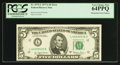 Fr. 1975-L $5 1977A Federal Reserve Note. PCGS Very Choice New 64PPQ
