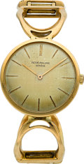 Timepieces:Wristwatch, Patek Philippe Ref. 3426 Gent's Gold Watch, circa 1970's. ...