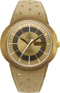 Timepieces:Wristwatch, Omega Dynamic 14k Gold & Steel Automatic. ...