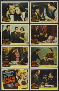 """Rage in Heaven (MGM, 1941). Lobby Card Set of 8 (11"""" X 14""""). Drama. ... (Total: 8 Items)"""