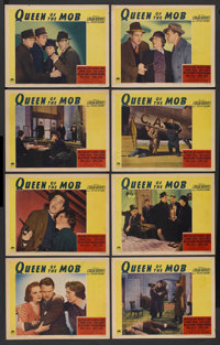 "Queen of the Mob (Paramount, 1940). Lobby Card Set of 8 (11"" X 14""). Crime. ... (Total: 8 Items)"