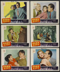 "Movie Posters:Crime, Dark City (Paramount, 1950). Lobby Cards (6) (11"" X 14""). Crime.... (Total: 6 Items)"