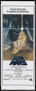 "Movie Posters:Science Fiction, Star Wars (20th Century Fox, 1977). Insert (14"" X 36""). ScienceFiction. ..."