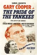 "Movie Posters:Sports, The Pride of the Yankees (RKO, 1942). One Sheet (27"" X 41""). ..."
