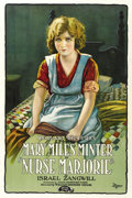"Movie Posters:Drama, Nurse Marjorie (Realart, 1920). One Sheet (27"" X 41""). ..."