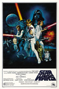 "Movie Posters:Science Fiction, Star Wars (20th Century Fox, 1977). One Sheet (27"" X 41"") Style C...."
