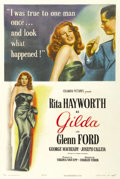 "Movie Posters:Film Noir, Gilda (Columbia, 1946). One Sheet (27"" X 41"") Style A. ..."