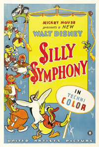 "Silly Symphony (United Artists, 1933). One Sheet (27"" X 41"")"