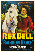 "Movie Posters:Western, Rainbow Ranch (Monogram, 1933). One Sheet (27"" X 41""). ..."