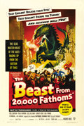 "Movie Posters:Science Fiction, The Beast From 20,000 Fathoms (Warner Brothers, 1953). One Sheet (27"" X 41""). ..."