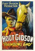 "Movie Posters:Western, Rainbow's End (First Division Production, 1935). One Sheet (27"" X41""). ..."