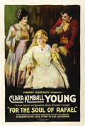 "Movie Posters:Drama, For the Soul of Rafael (Equity Pictures Corporation, 1920). OneSheet (27"" X 41""). ..."