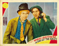 "Movie Posters:Comedy, A Day at the Races (MGM, 1937). Lobby Card (11"" X 14""). ..."