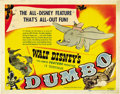 "Movie Posters:Animated, Dumbo (RKO, 1941). Title Lobby Card (11"" X 14""). ..."